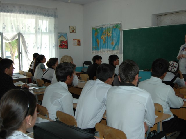 The Loving Story-Tajikistan Classroom 1